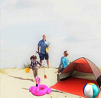 Sun Shade Portable Camping Tent Picnicing Fishing Hiking Canopy Easy Setup Outdoor Cabana Tents with Carry Bag UV50+ Lightahead Automatic Pop Up UV Resistant