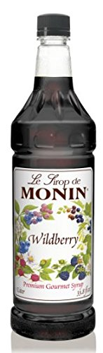 Monin Wildberry Flavor Syrup 1 Liter - Monin Berry Wild