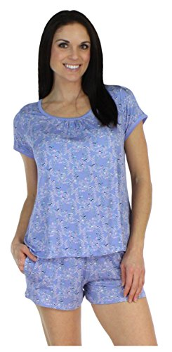 bSoft Bird Trellis Shorts w/Tee (BSBJ1831-1019-XL) (Summer Trellis)