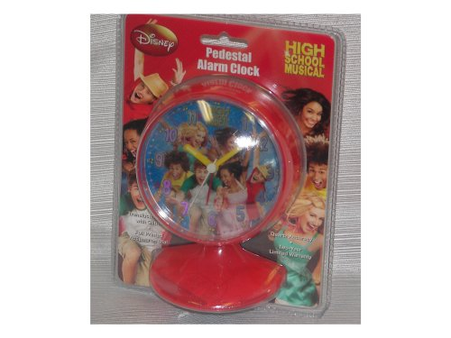 Disney High School Musical Pedestal Alarm (Hannah Montana Alarm Clock)