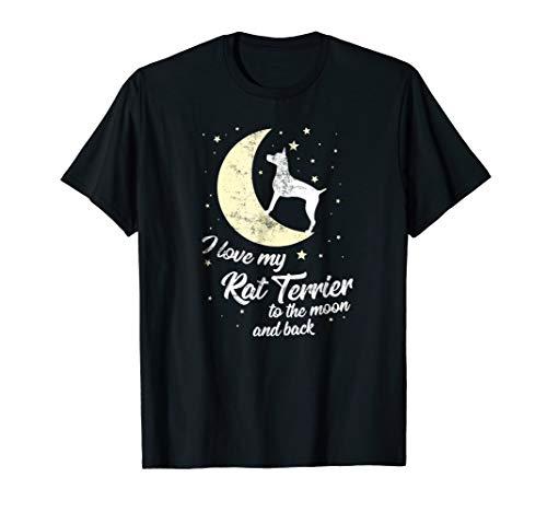 (Rat Terrier Dog Owner T-Shirt - Cute Dog Owner Gift)