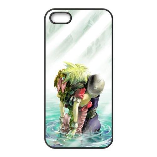 Final Fantasy 020 coque iPhone 4 4S Housse téléphone Noir de couverture de cas coque EOKXLLNCD10893