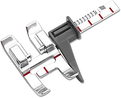 YEQIN Snap On Adjustable Guide Presser Foot for Pfaff Sewing Machine #820677096