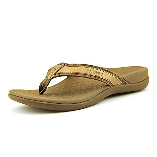 Vionic Women's Tide II Bronze Metallic Sandal ()