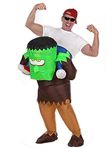 Seasonblow Inflatable Costume Ride on Monster Costumes Halloween Party -