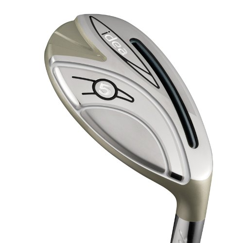 Adams Golf Women's New Idea Hybrid Club, Right Hand, Graphite, Ladies Flex, 28-Degree, #6 -  M2630803