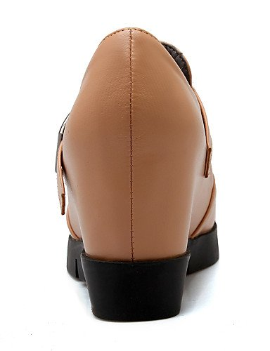 Cn41 Uk7 Heels A Njx Tacchi Tray Vestito Nero Eu40 Leatherette mandorla Zeppe Shoes Tacco Donna us9 Nero Hug a FTqxFU7fw