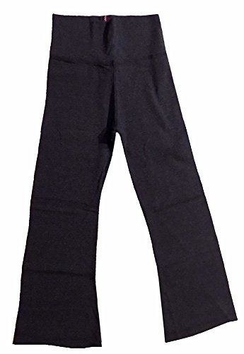 Hard Tail Fold Over Cropped Yoga Pants - Dark Charcoal (S, Dark Charcoal)