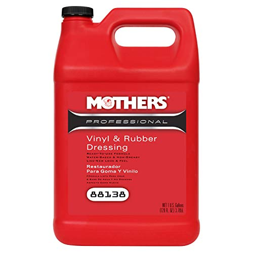 Mothers 88138 Professional Vinyl & Rubber Dressing, 1 Gallon