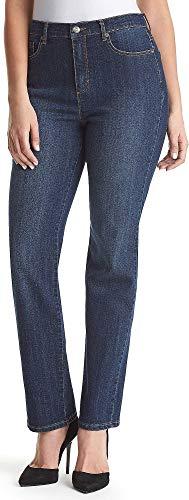 Gloria Vanderbilt Women's Amanda Classic Tapered Jean, Scottsdale Wash, 12 Short