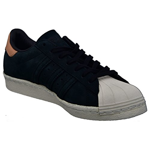 Adidas Originals Kvinders 'originaler Superstjerne 80'er Undervisere Us7 Sort DMWT38Y