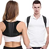 Posture Corrector For Men And Women, Adjustable Upper Back Brace For Clavicle Support, Thoracic Kyphosis and Providing…