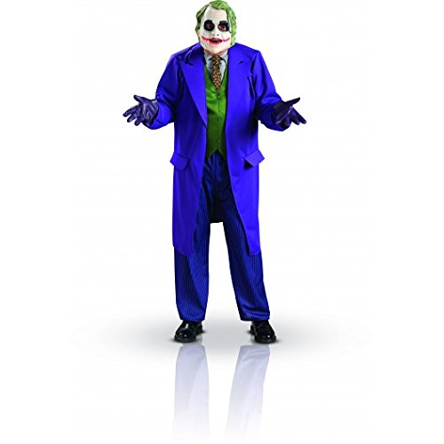 Rubie's Adult's Mens Deluxe The Joker The Dark Knight Costume Size, Purple / Green, Large