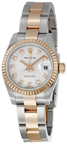 Rolex Watch Gold And Silver