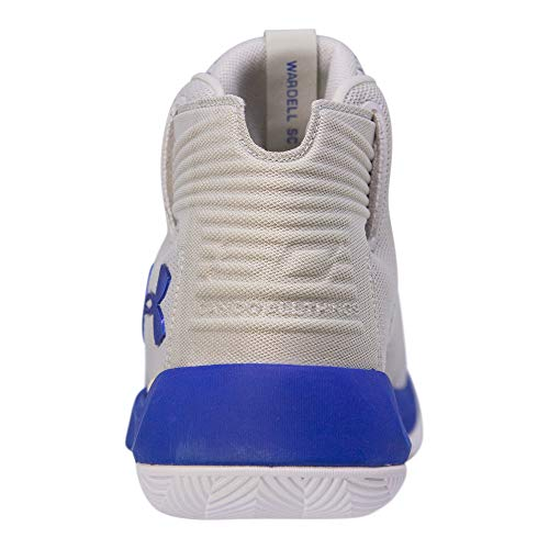 Under Armour Kids Boys UA GS Curry 3ZERO Basketball (Grey/Taxi/Royal Blue, 5.5 M US Big Kid) by Under Armour (Image #2)