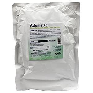 Adonis 75 WSP contains Imidacloprid (4 x 2.25 oz. bags) by ADONIS