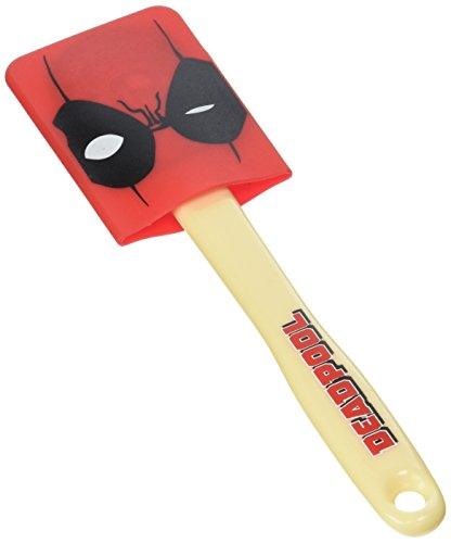 Deadpool unisex-adult Deadpool Spatula w/ Removable Mask Standard