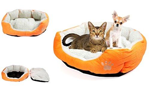 Deluxe Plush Orange Tiger Adult Costumes (Howling Popular Pet Bed Cat Plush Soft Fleece Deep Sleep Color Orange)