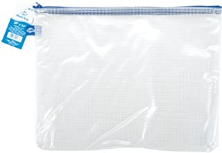"""Alvin, PVC Clear Mesh Kit Bag, Zippered Top Pen Pouch - 10"""" x 13"""" (B000HFUEFY)   Amazon price tracker / tracking, Amazon price history charts, Amazon price watches, Amazon price drop alerts"""