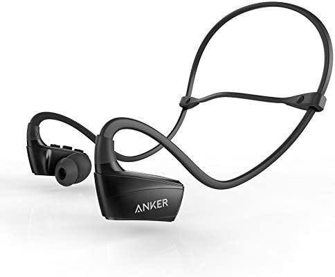 Amazon Com Anker Ak A3260011 Soundbuds Sport Nb10 Bluetooth Headphones Ipx5 Water Resistant Bluetooth Headset With Adjustable Neckband Sport Earbuds With Mic And Cvc 6 0 Noise Cancellation For Work Out