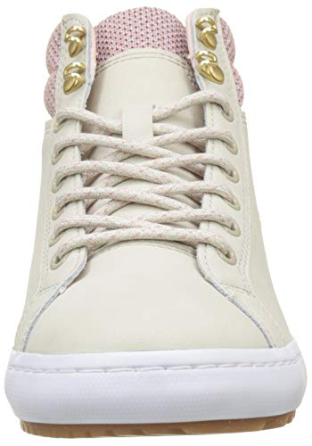 Insulatec3182 Beige wht 7f8 Straightset Mujer Lacoste nat Para Caw Zapatillas pxnwYB