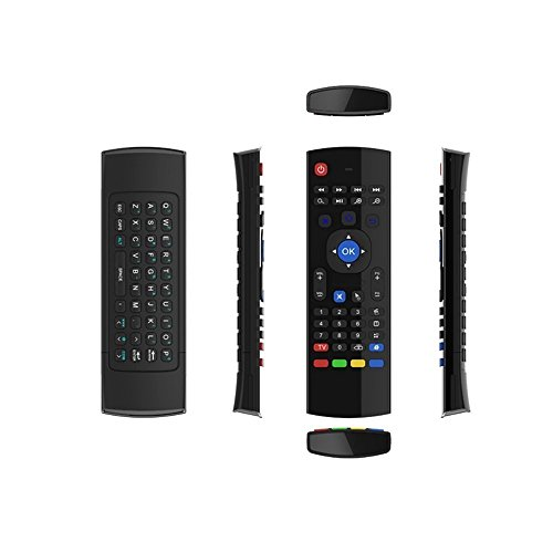 X-Strong® MXIII 2.4G Air Mouse Mini Keyboard Infrared Remote Control 3-Gyro 3-Gsensor Wireless Receiver for Google Android Smart TV Box IPTV HTPC Mini PC Windows Linux PS3 Xbox 360