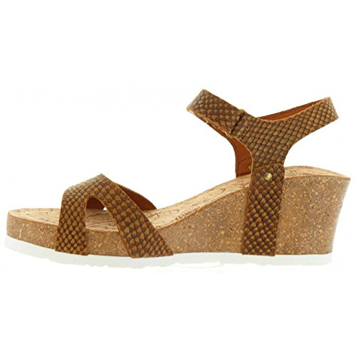 Sandalias de Mujer PANAMA JACK JULIA SNAKE B5 NAPA CUERO