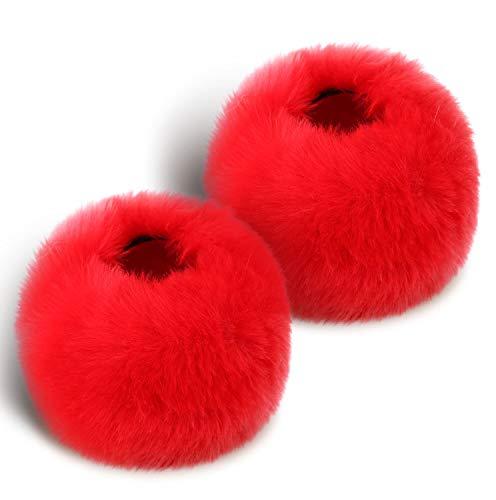 Faux Fur Fuzzy & Cozy Wrist Cuff Warmers