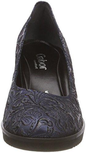 Azul Fashion Shoes Blue s Mujer s Comfort Zapatos Gabor 86 Tacón de A para s HFgxqwqU