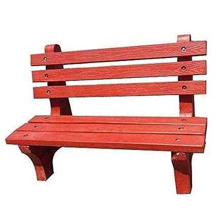 Superb Green Bricks And Tiles Outdoor Cemented Bench Size 101 X Uwap Interior Chair Design Uwaporg