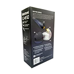 Westone UM Pro10 High Performance Single Driver Noise-Isolating In-Ear Monitors - Clear, 78514