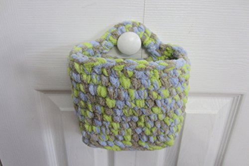 Hanging Basket, Medium Storage Rectangle Wall Baskets - Many Color (Knob Polyester)