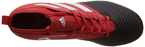 adidas Ace 17.3 Primemesh Fg, Zapatillas de Fútbol para Hombre Rojo (Red/ftwr White/core Black)