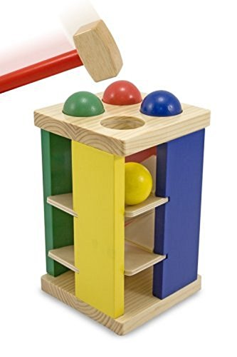 Melissa & Doug 13559 Pound And Roll Tower Toy by Melissa & Doug