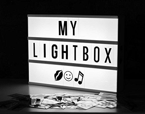 Locomocean ~ Leuchten Ihrem Leben ~ ~ ~ Filmischen Licht-Box ~ batteriebetriebene