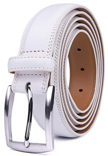 Fabio Valenti Men's 32MM Casual Belt with Pin Buckle (30, ()