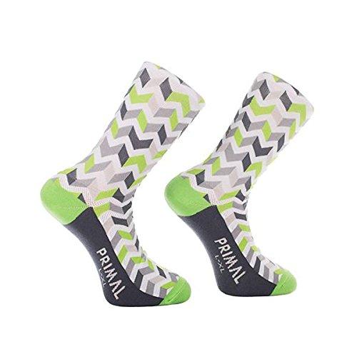 Primal Wear Men's Basalt Shock Cycling Bike Socks, Multicoloured, Size...