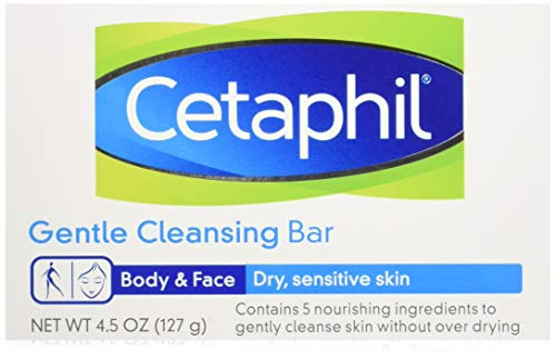 Cetaphil Gentle Cleansing Bar 4.5 Oz (Pack of 6)