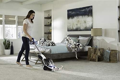 Hoover PowerSprint Pet Compact Carpet Cleaner, Lightweight, FH50700, Blue