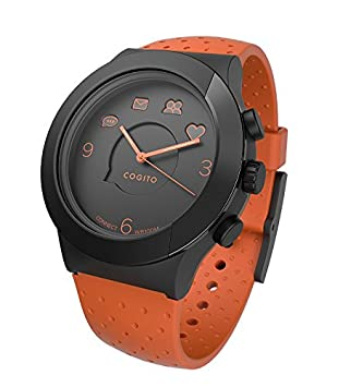 Cogito FIT - Smartwatch con Bluetooth, color naranja y negro ...