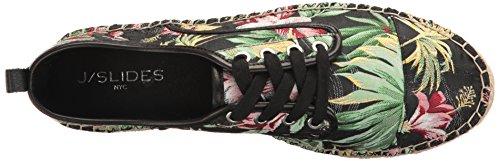 J Slides Jslides Womens Rally Fashion Sneaker Black / Multi