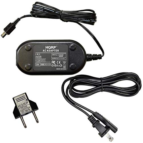 - HQRP Replacement AC Adapter/Charger for JVC GR-D371US, GR-D375US, GR-D395US, GR-AX890US, GR-D230US, GZ-MS100, GZ-MS100U, GZ-MS100RU, GZ-HM1, GZ-HM1SUS Camcorder with USA Cord & Euro Plug Adapter