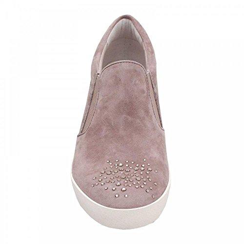 Hidden Detail Diamante Slipon und Wedge Taupe Shoe Kennel Schmenger zPqtwxI
