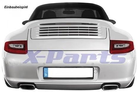 LED Faros traseros Porsche 911 997 Bj. 04 - 08 transparente cristal rojo Facelift de imitación: Amazon.es: Coche y moto