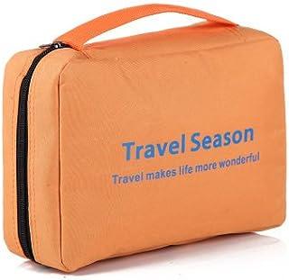 MZP Kit da viaggio sacchetto della lavata uomo signora custodia da viaggio impermeabile rifornimenti essenziali esterni corsa portatile trousse , purple