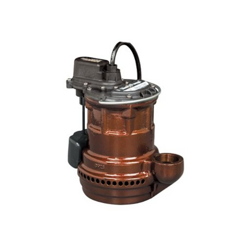 Liberty Pumps 247 VMF 1/4-Horse Power 1-1/2-Inch Discharge 240-Series Cast Iron Automatic Submersible Sump Pump with VMF Switch by Liberty Pumps