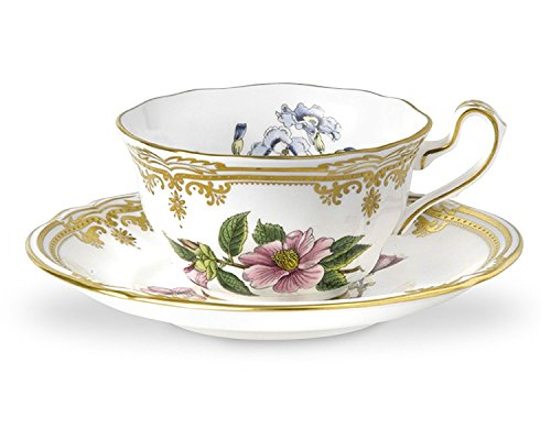 Spode Stafford Flowers Teacup & Saucer