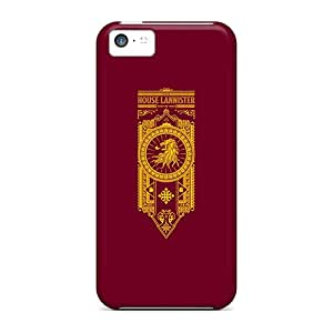 Apple Iphone 5c Lqc8607ZNdP Provide Private Custom Colorful House Lannister Pattern Shockproof Hard Phone Cover -JohnPrimeauMaurice