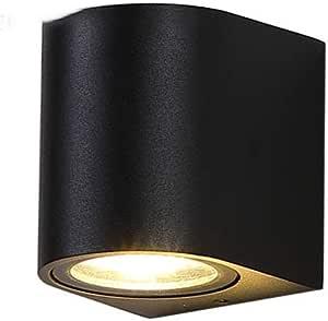 YBWL جدار الضوء في الهواء الطلق حديقة مصباح الألومنيوم IP65 LED إضاءة ماء الديكور معدات الحديثة شمال أوروبا مناسبة لغرفة النوم شرفة غرفة المعيشة