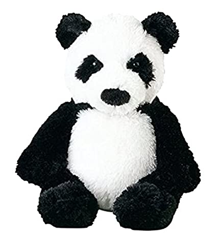 Amazon Com Melissa Doug Bamboo Panda Bear Stuffed Animal Melissa